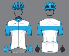 Cycling team jersey biking uniform
