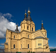 St. Alexander Nevsky Cathedral. City Of Nizhniy Novgorod, Russia. Years Of Construction 1868—1881
