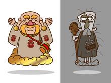 冨の神&貧乏神