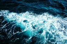 Close-up Of Wild Sea