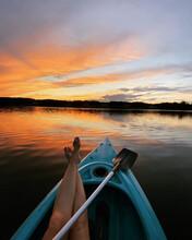 Kayaking Lake Sunset I