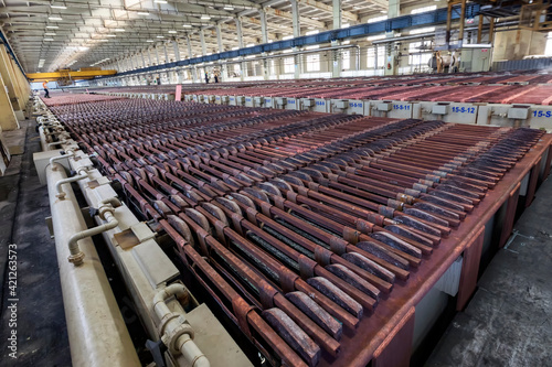 Canvastavla Copper electrolysis-cathode plates