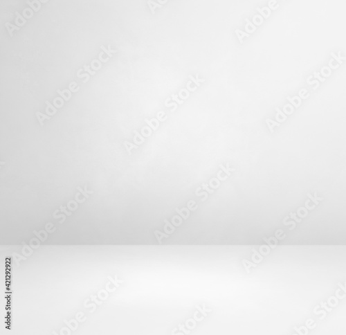 Obraz Empty white concrete interior background - fototapety do salonu
