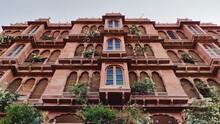 Royal India Jaipur Bikaner Buulding Indian Rajasthan Facade