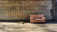 Sofa Against Wall
