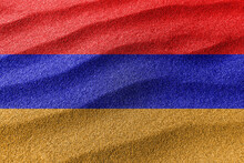 Armenia Sand Flag, National Flag