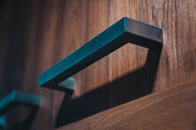 Close-up Of Drawer Handle