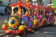 Color Children Train