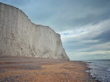 Seven Sisters Cliffs And Beach