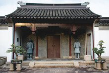 Entrance Of Temple Outside Building
