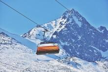 Ski Resort In High Tatras In Slovakia