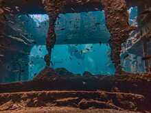 Inside The Wreck Of The Crisoula K In Abu Nuhas, Red Sea