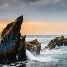 Rocks At The Sawarna Beach