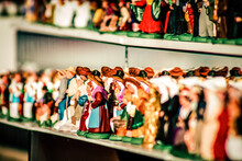 Close-up Of Figurines For Sale In Store