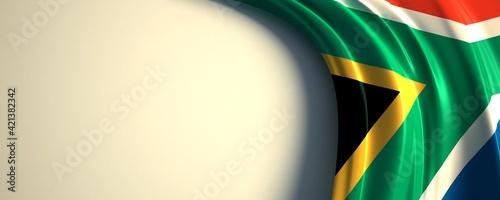 Fotografia, Obraz South Africa Flag
