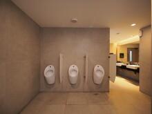 Interior Of Public Restroom