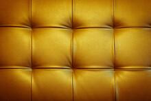 Full Frame Shot Of Yellow Sofa