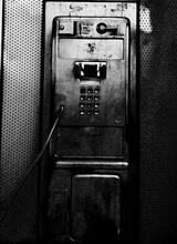 Old Public Telephone