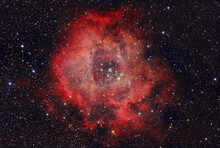 The Rosette Nebula Is More Than 5000 Light-years Away In Monoceros Constellation.