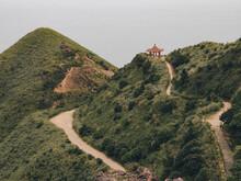Beautiful Landscape Of Teapot Mountain Trail In New Taipei City, Taiwan