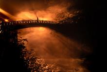 The Iconic Bridge Of The City Of Nikko
