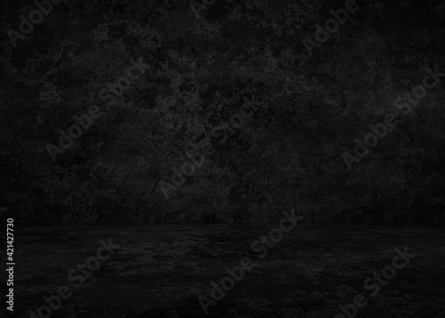 Fototapeta dark concrete interior obraz