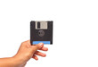 Floppy Disk on a white background