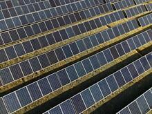 Full Frame Shot Of Solar Panels