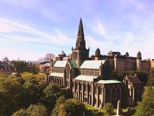 A Rare Sunny Day In Glasgow