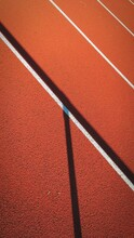 Abstract High Angle View Of Track