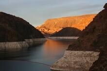 Hoover Dam.....nevada And Arizona Border