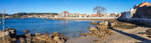 Arousa Island village