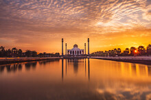 Central Mosque Of The Good City Of Songkhla
