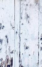 Full Frame Shot Of White Painted Wood