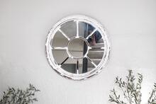 Round Mirror On Wall