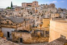 Buildings In Matera