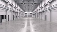 Industrial Hall Interior 2