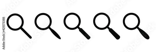 Tableau sur Toile Search icon