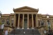 Opera house Teatro Massimo in Palermo, Sicily Italy
