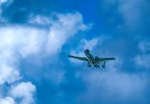 Fairchild Republic A-10 Thunderbolt II Flying Against Sky