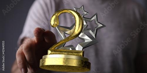 2nd award prize in 3d