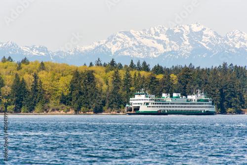 USA, Washington State, Puget Sound Fototapeta