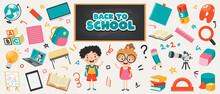 School Supplies For Children Education