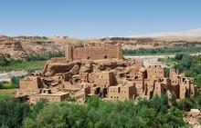 Kasbah Of Ouarzazate In Morocco