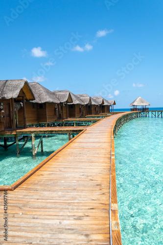 Obraz na plátně Fihalhohi Island Resort