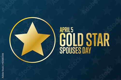 Gold Star Spouses Day Tapéta, Fotótapéta