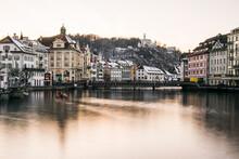 Cityscape Of Lucerne Switzerland