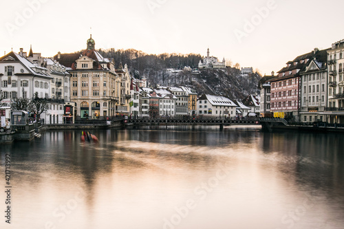 Fotografie, Obraz Cityscape Of Lucerne Switzerland