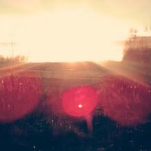 Idyllic View Of Sunlight Falling On Landscape