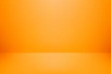 Background Studio Orange Color